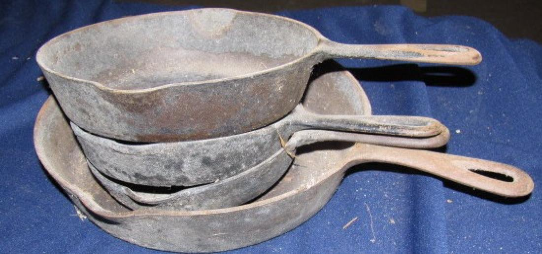 Griswold Cast Iron Skillet lot