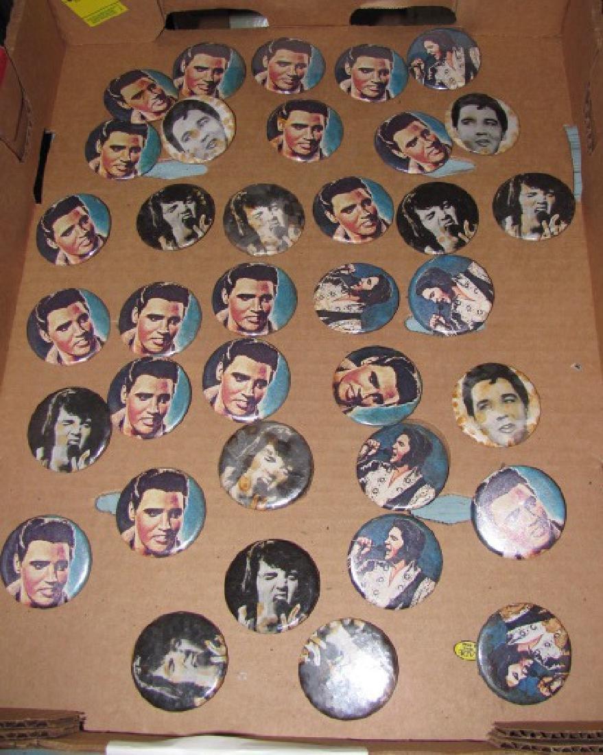 36 Elvis Presley Buttons Pinbacks