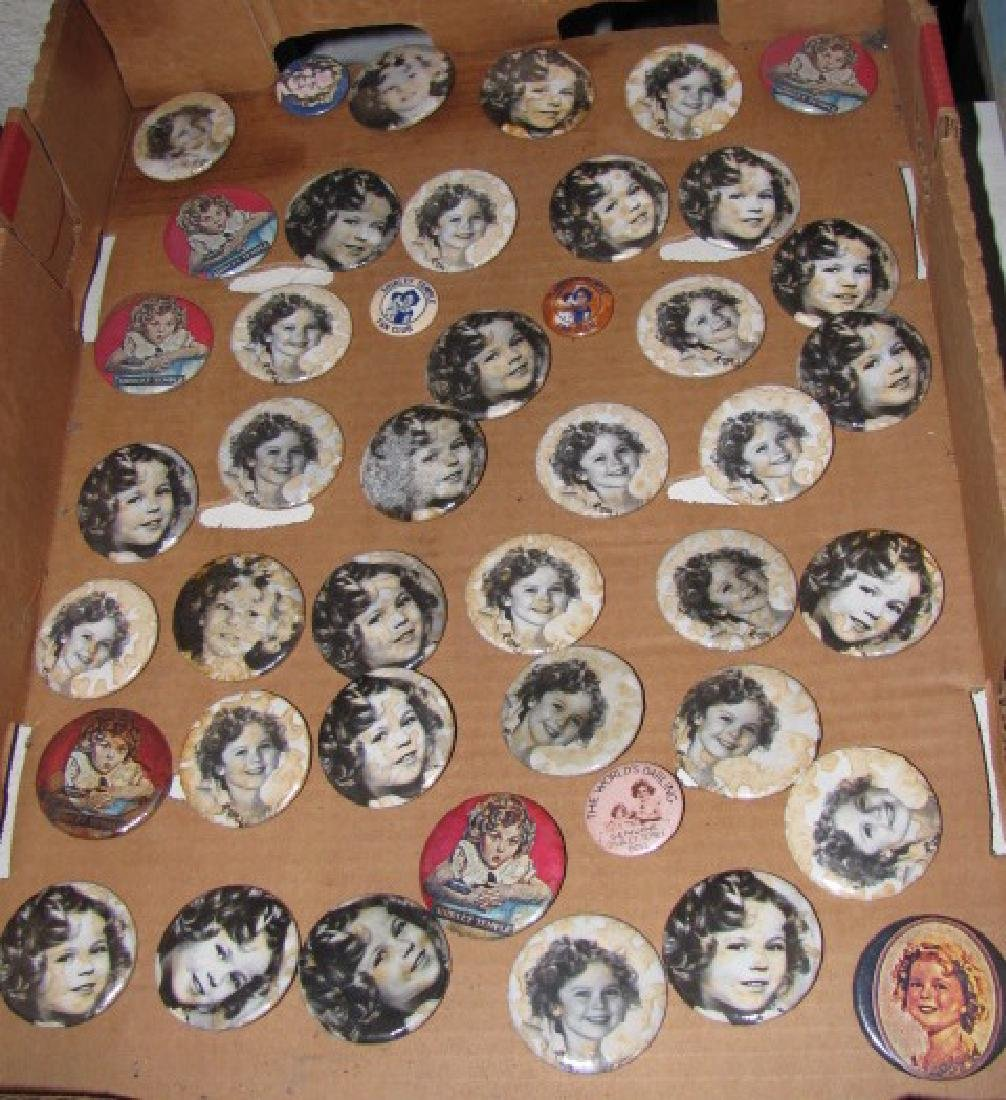 44 Shirley Temple Buttons