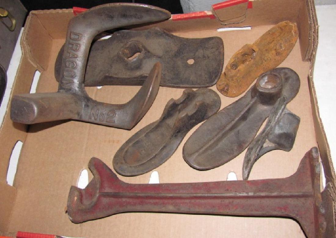 Shoe Cobbler Leather Anvils Lasts