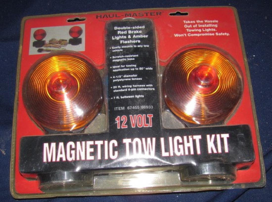 Haul Master Magnetic Tow Light Kit