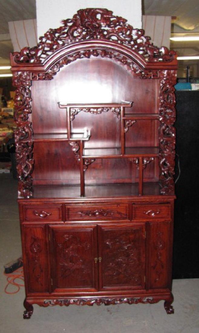 Carved Oriental Cabinet