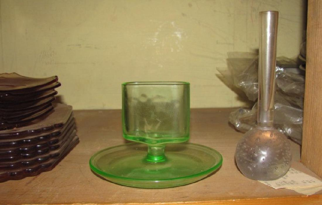 Depression Glass & China Lot - 3