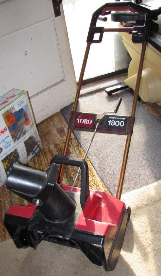 Toro 1800 Snowblower & Snow Shovel