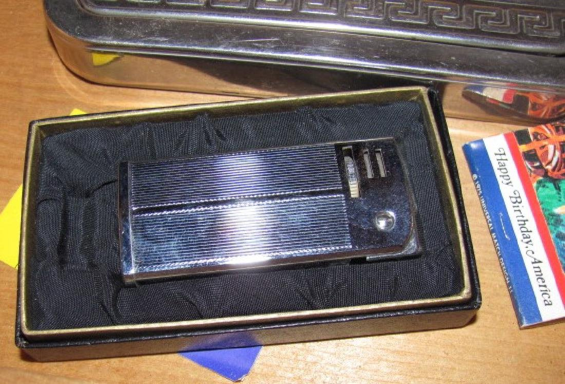 Wood Box & Contents ATC Lighter Whistle - 3