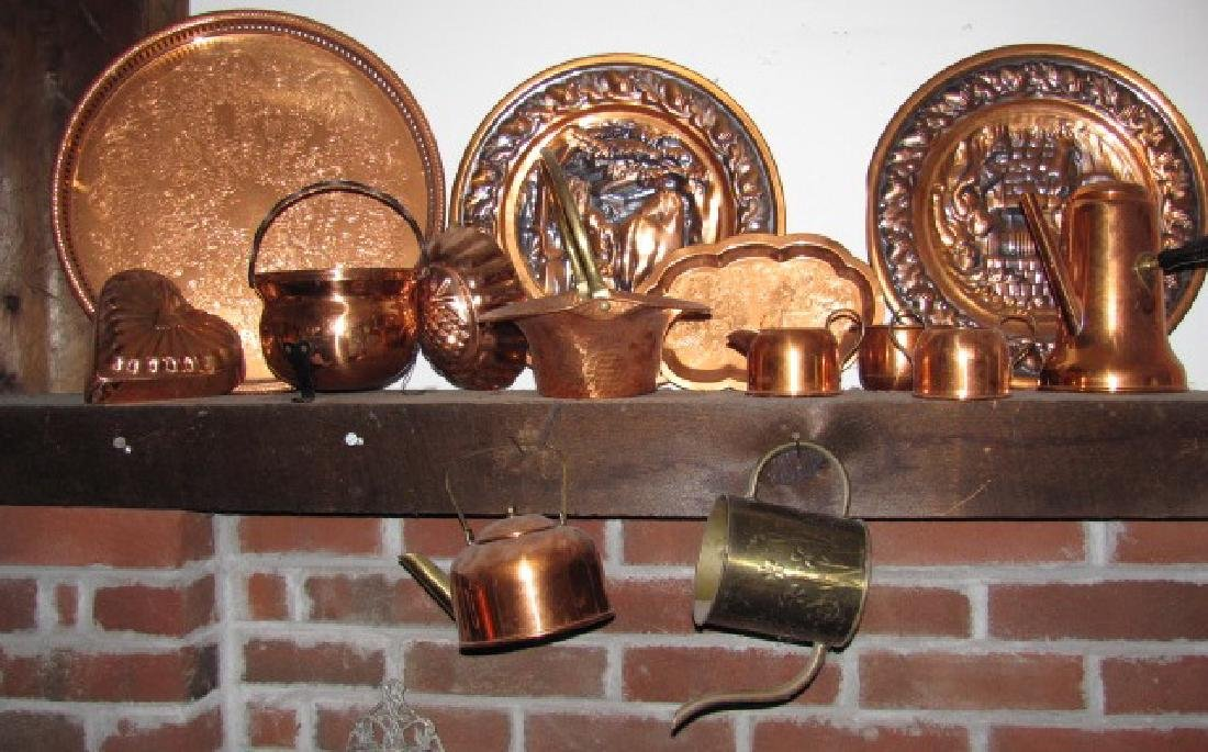 Copperware Lot