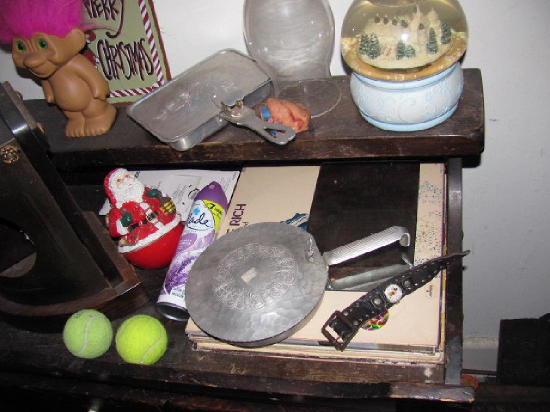 Plant Stand Lamp Table Lot - 5