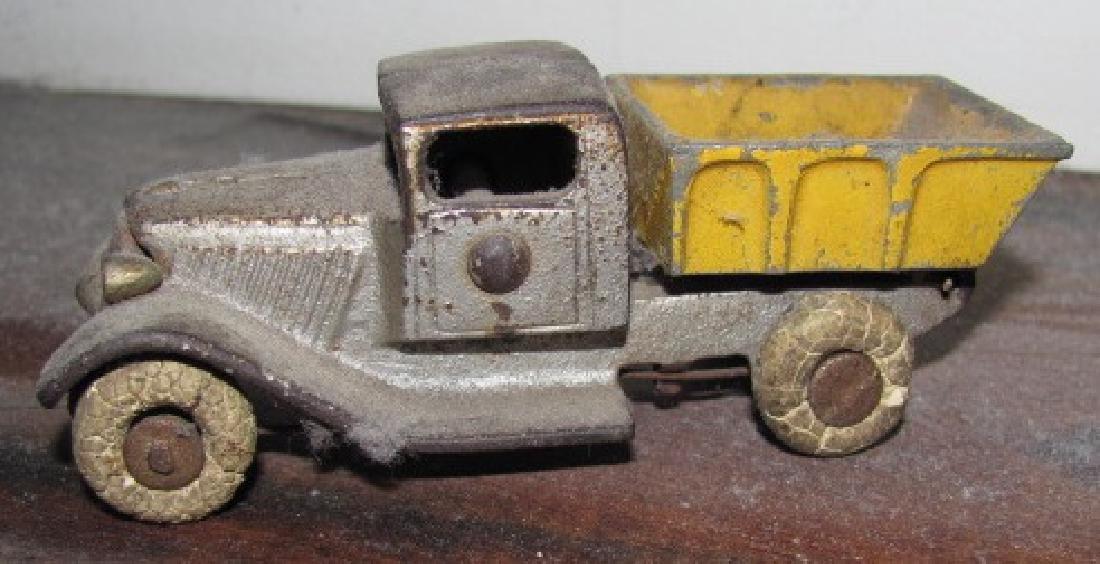 Antique Cast Iron Toy Dump Truck