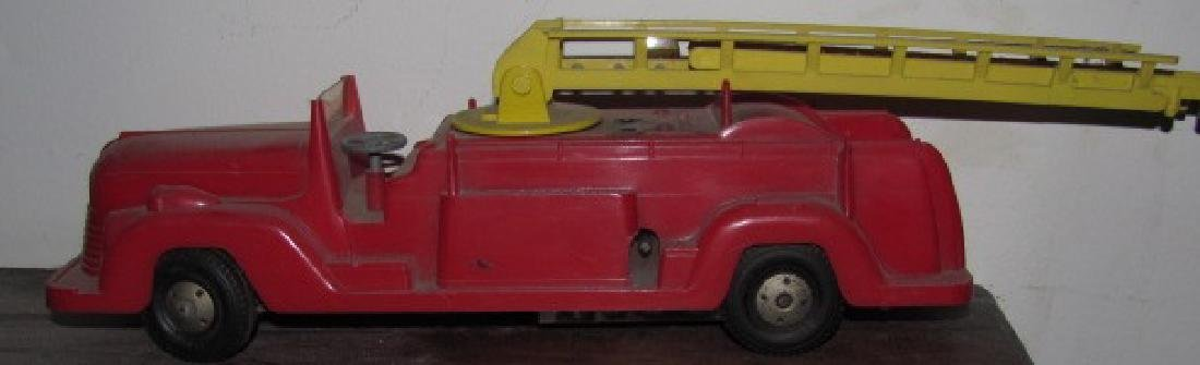 Marx Wind UP Fire Truck Toy
