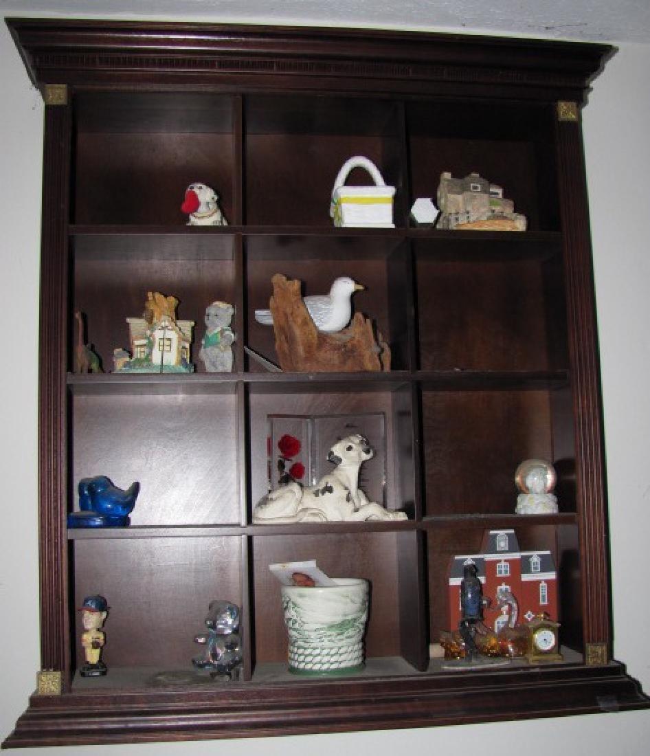 Knick Knack Shelf Lot