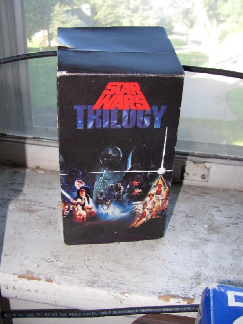 Star Wars Triology VHS Tapes Movies