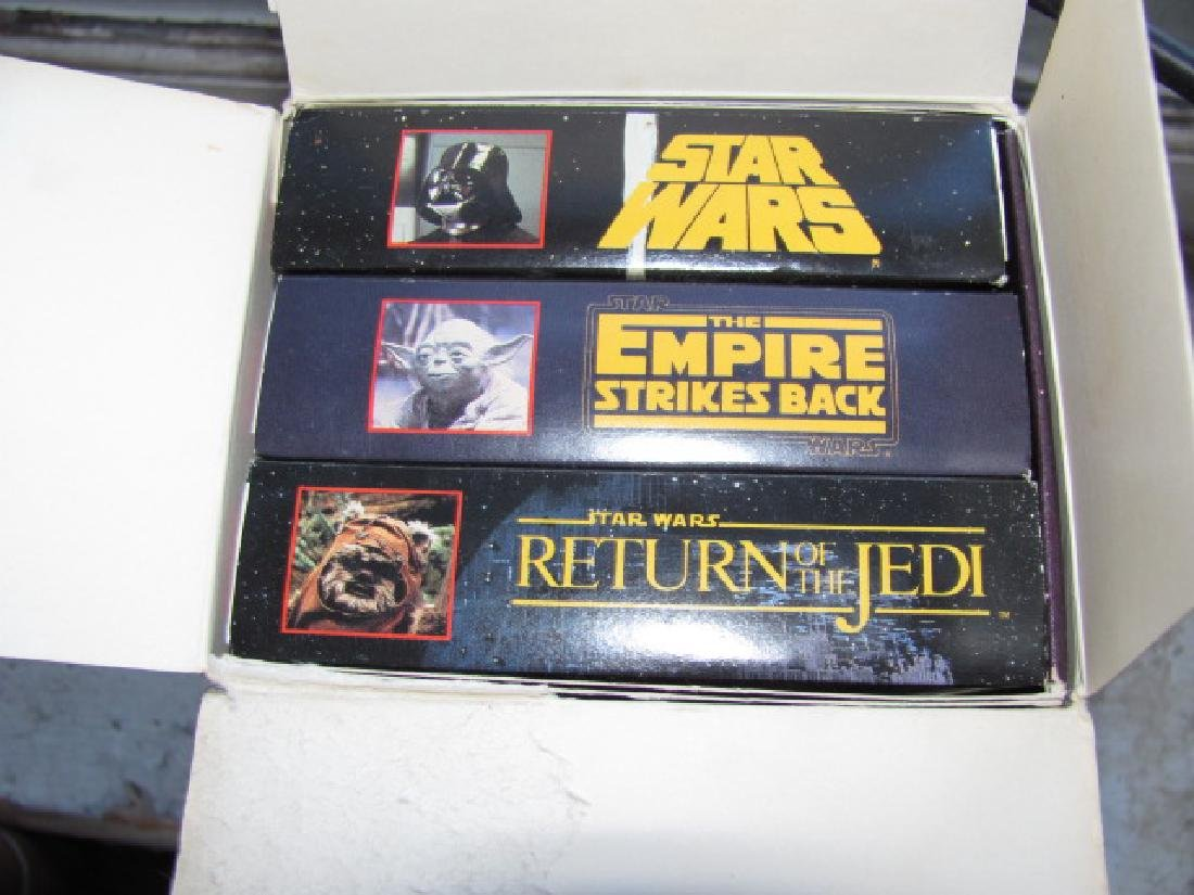 Star Wars Triology VHS Tapes Movies - 2