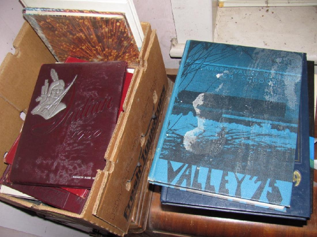 Clinton NJ & Del Val Yearbooks - 3
