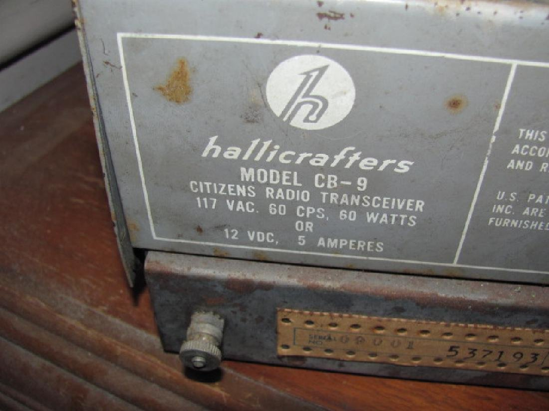 Hallicrafters CB Radio - 2