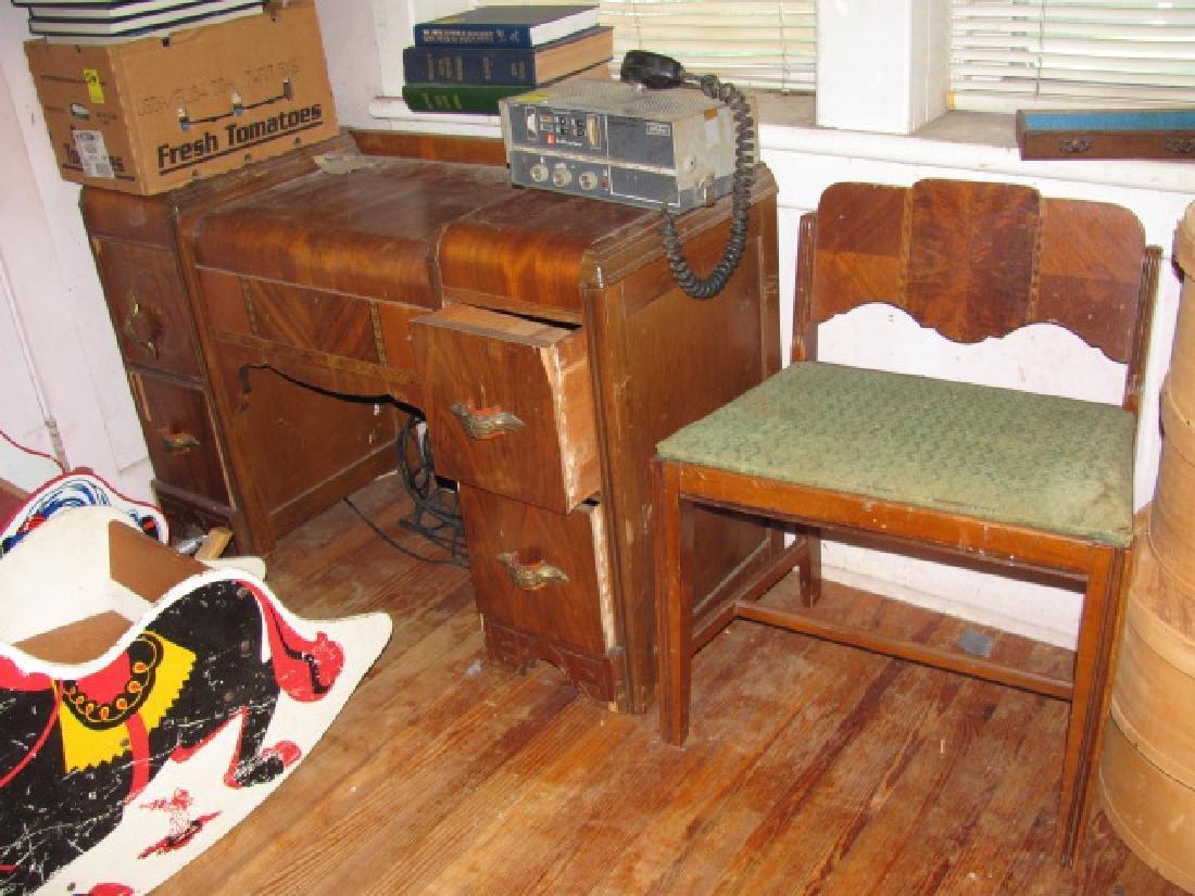 Art Deco Vanity & chair