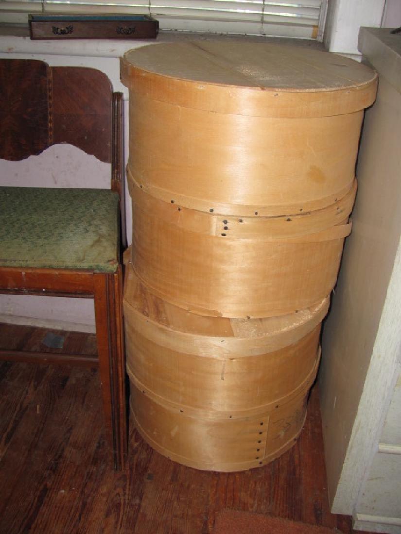 4 Dufeck's Wooden Boxes