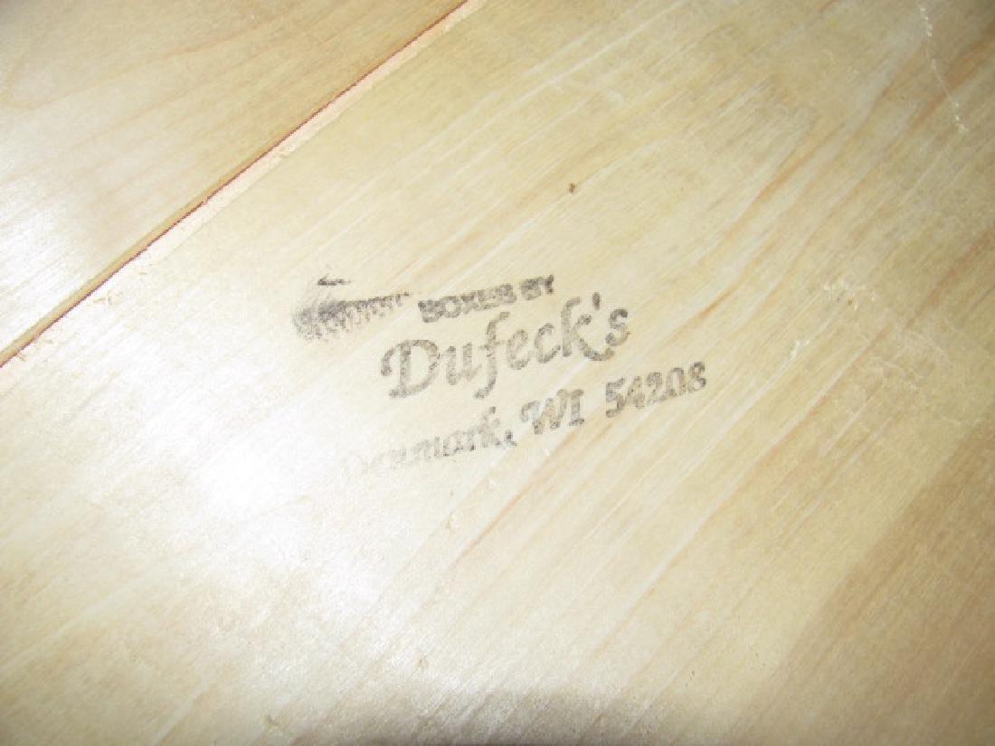4 Dufeck's Wooden Boxes - 3