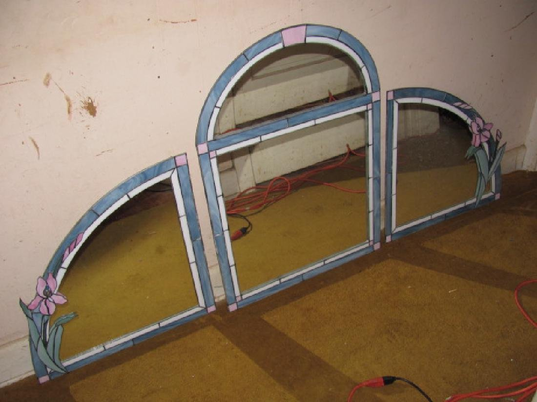 3 Stained Glass Mirrors