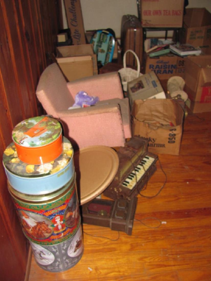 Partial Contents of Attic - 2