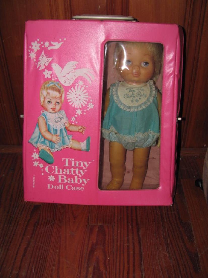 1963 Tiny Chatty Baby with Case