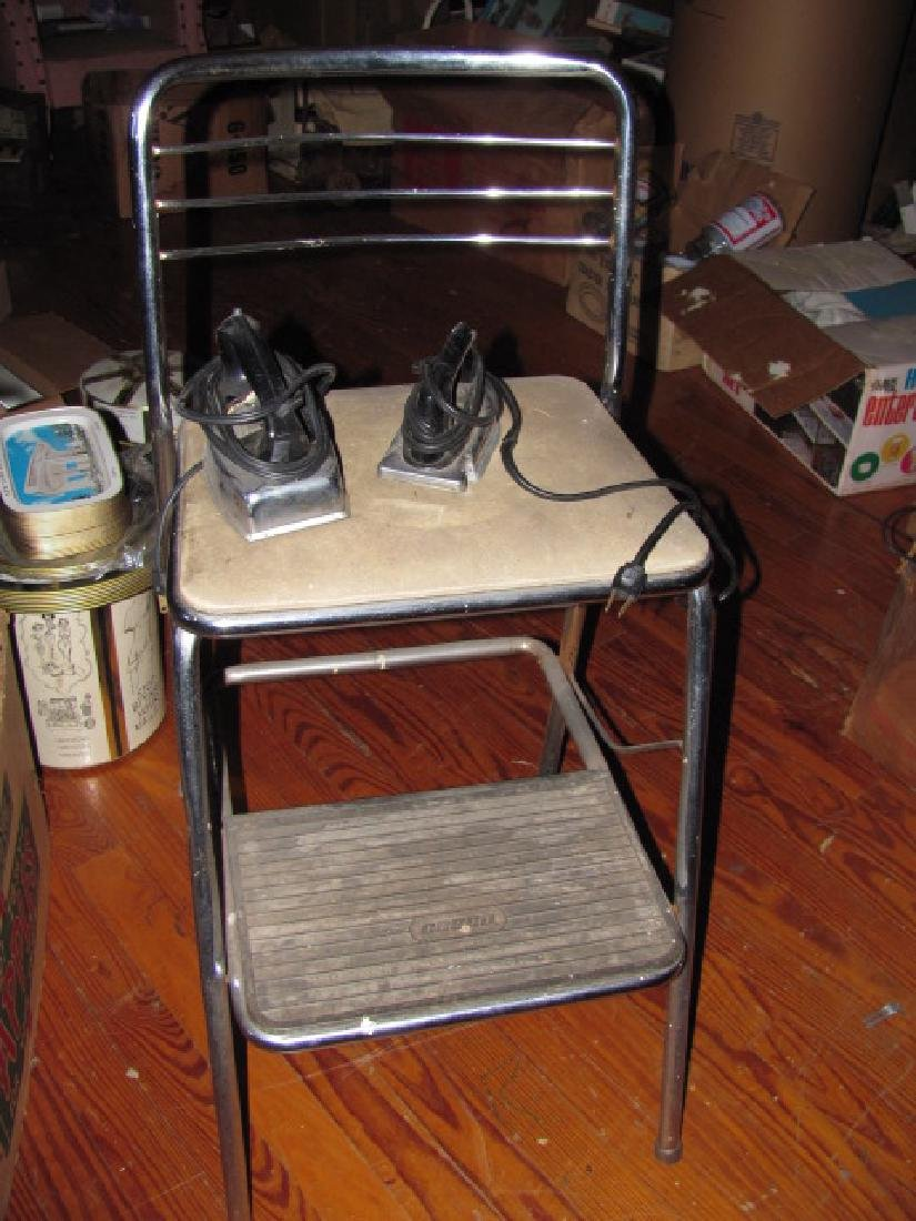 Cosco Step Stool Chair & Irons