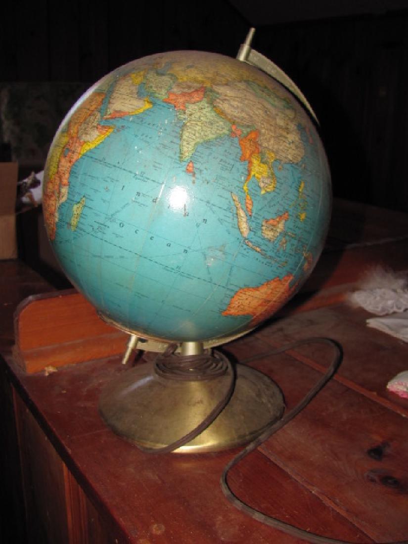 Rand McNally Indexed Terrestrial Globe