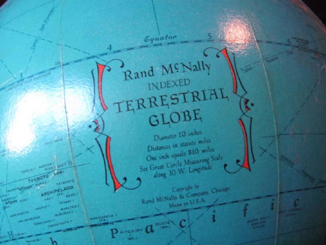 Rand McNally Indexed Terrestrial Globe - 2