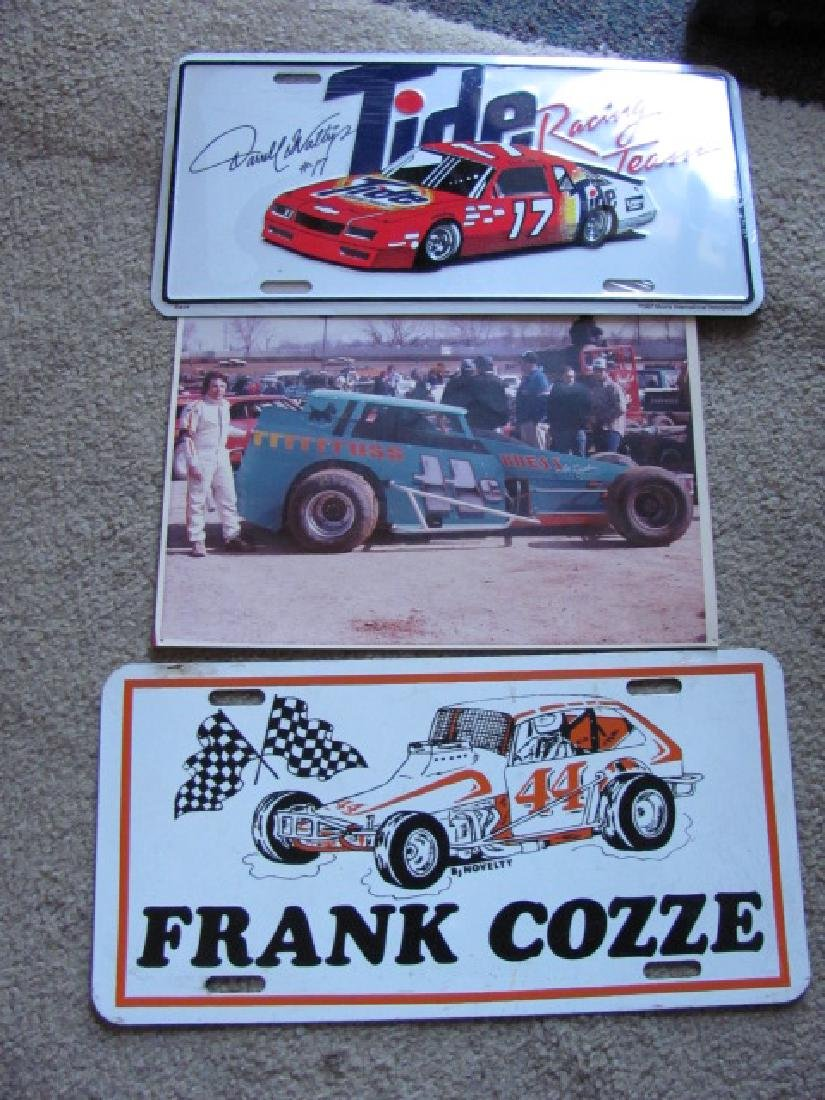 Frank Cozze & Modified Race Car Photo