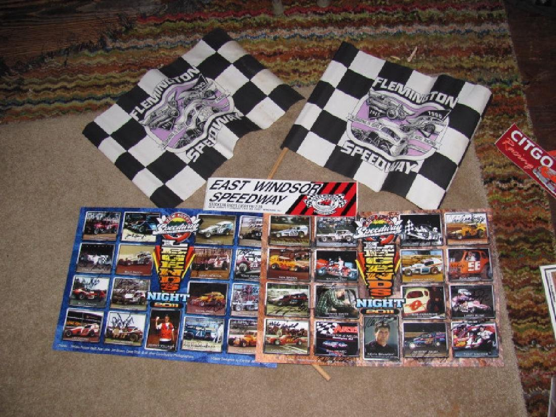 Autographed New Eqypt Speedway Posters