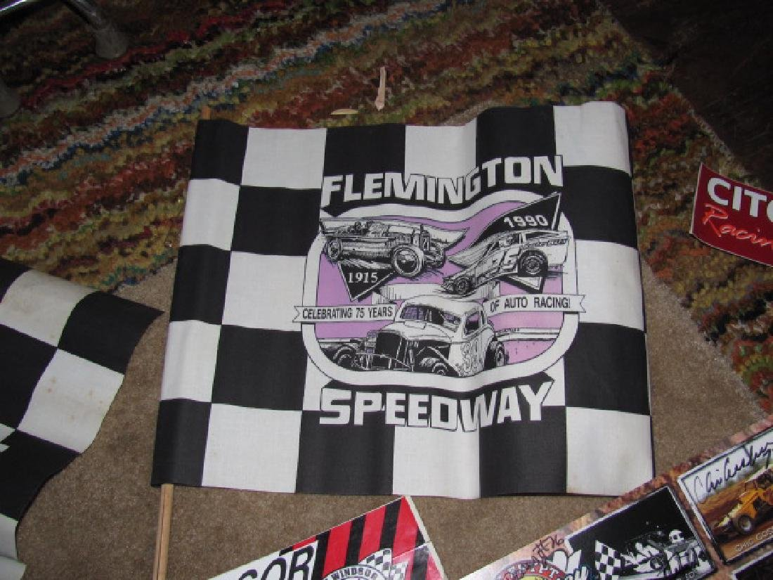 Autographed New Eqypt Speedway Posters - 2