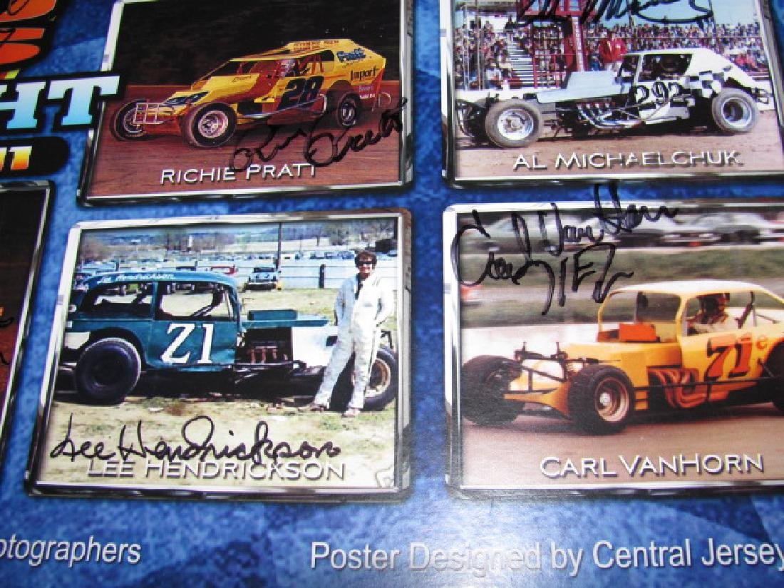 Autographed New Eqypt Speedway Posters - 5
