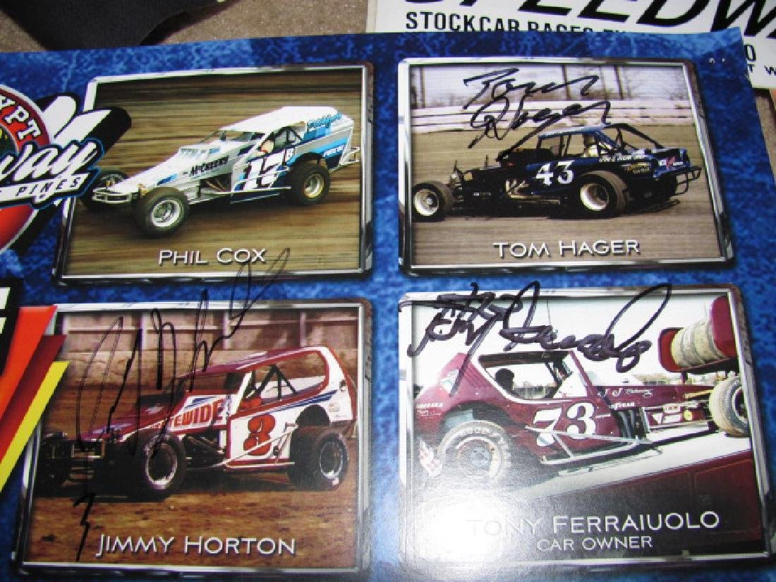 Autographed New Eqypt Speedway Posters - 6