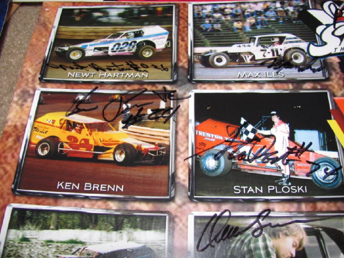 Autographed New Eqypt Speedway Posters - 7