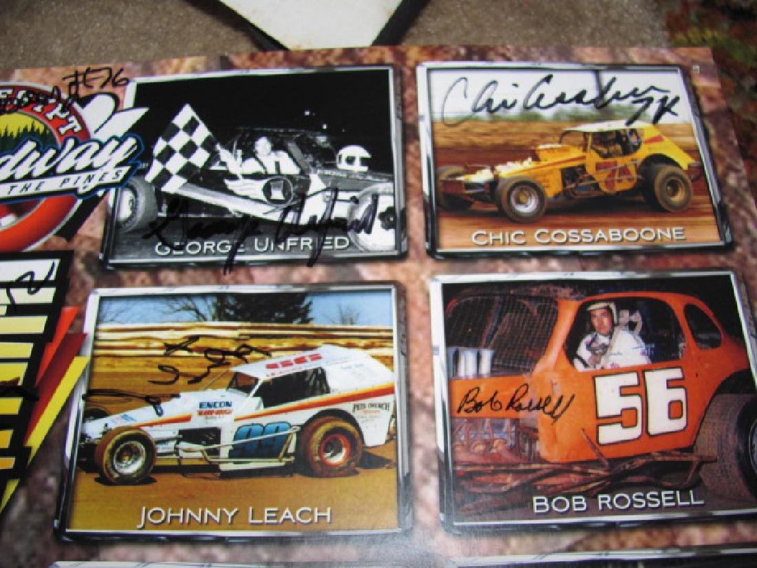 Autographed New Eqypt Speedway Posters - 8