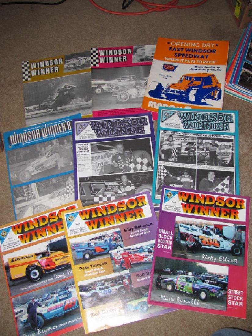 93 East Windsor Racing Programs