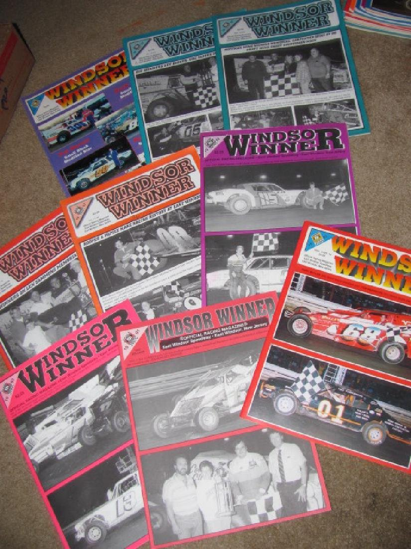 93 East Windsor Racing Programs - 2