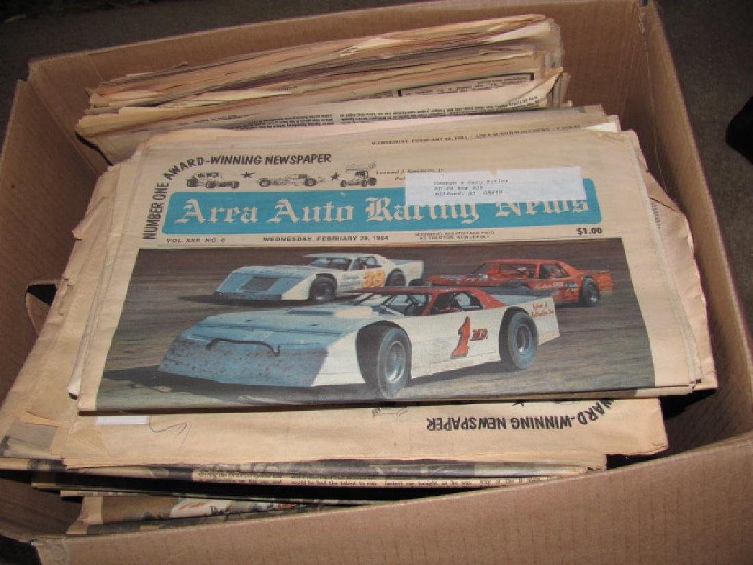 Area Auto Racing News Paper - 2
