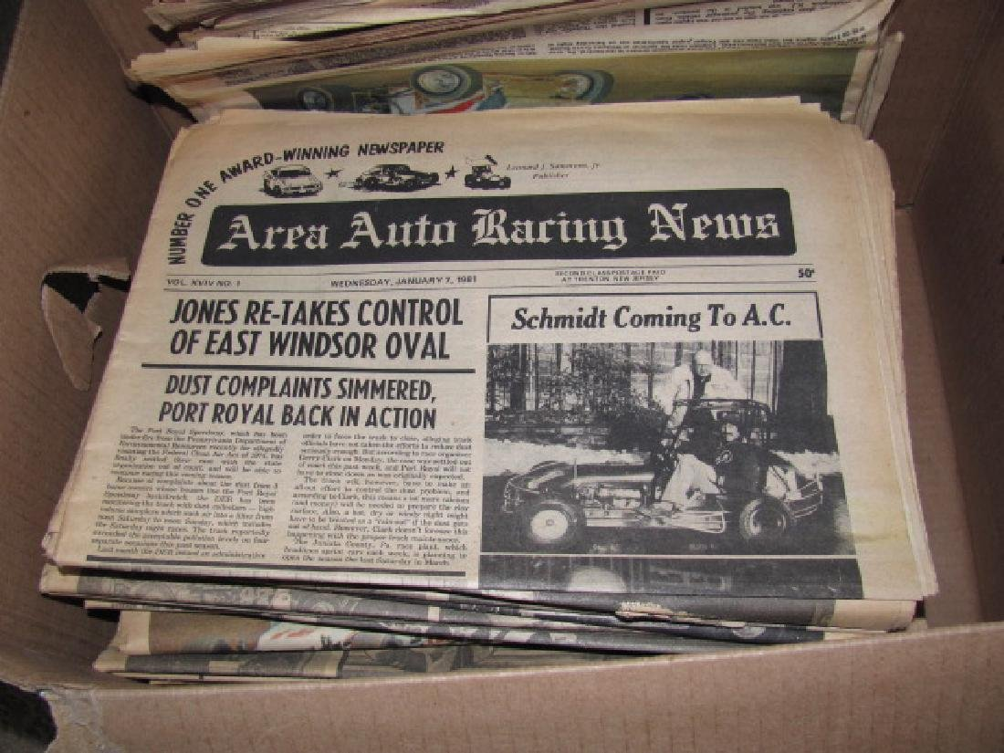 Area Auto Racing News Paper - 3