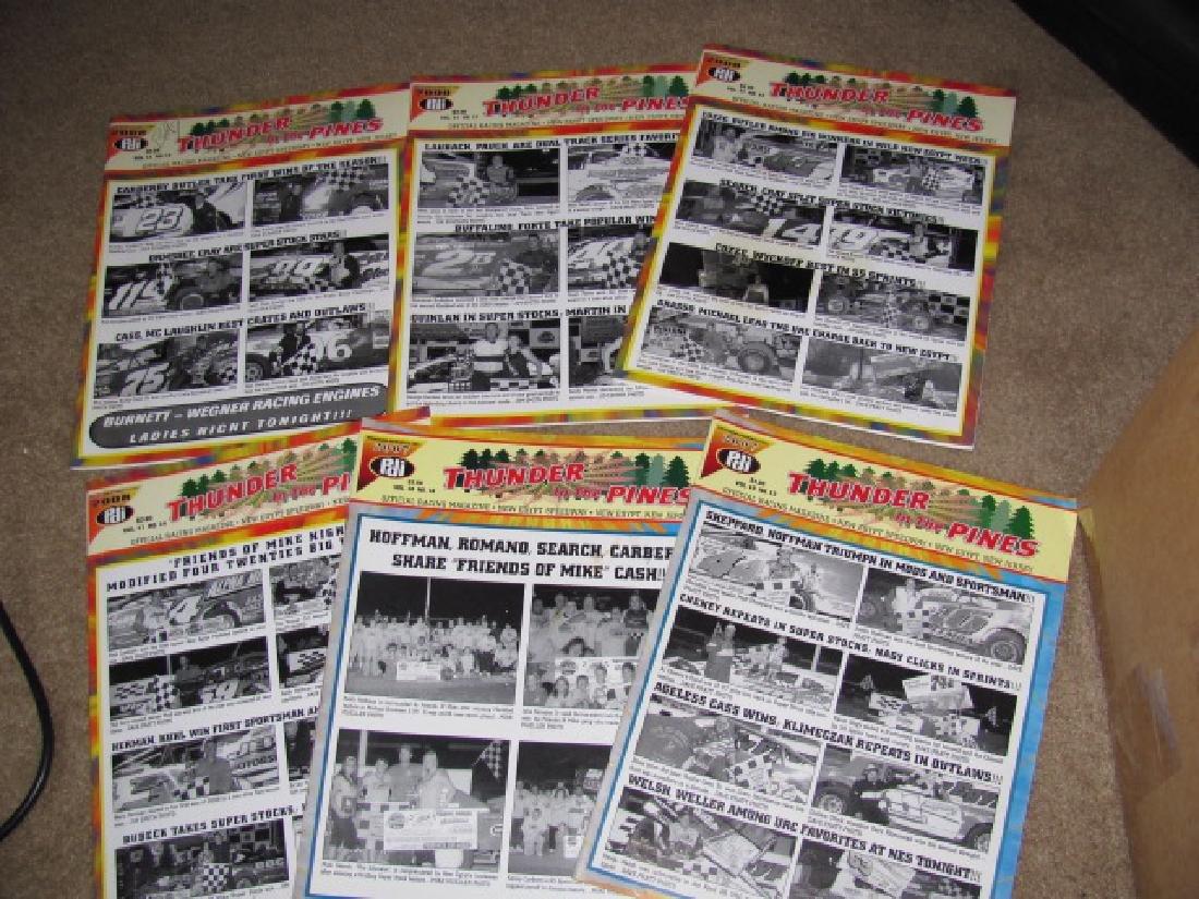 78 Vintage New Egypt Speedway Programs