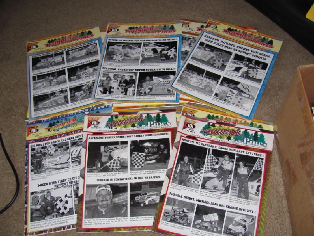 78 Vintage New Egypt Speedway Programs - 2