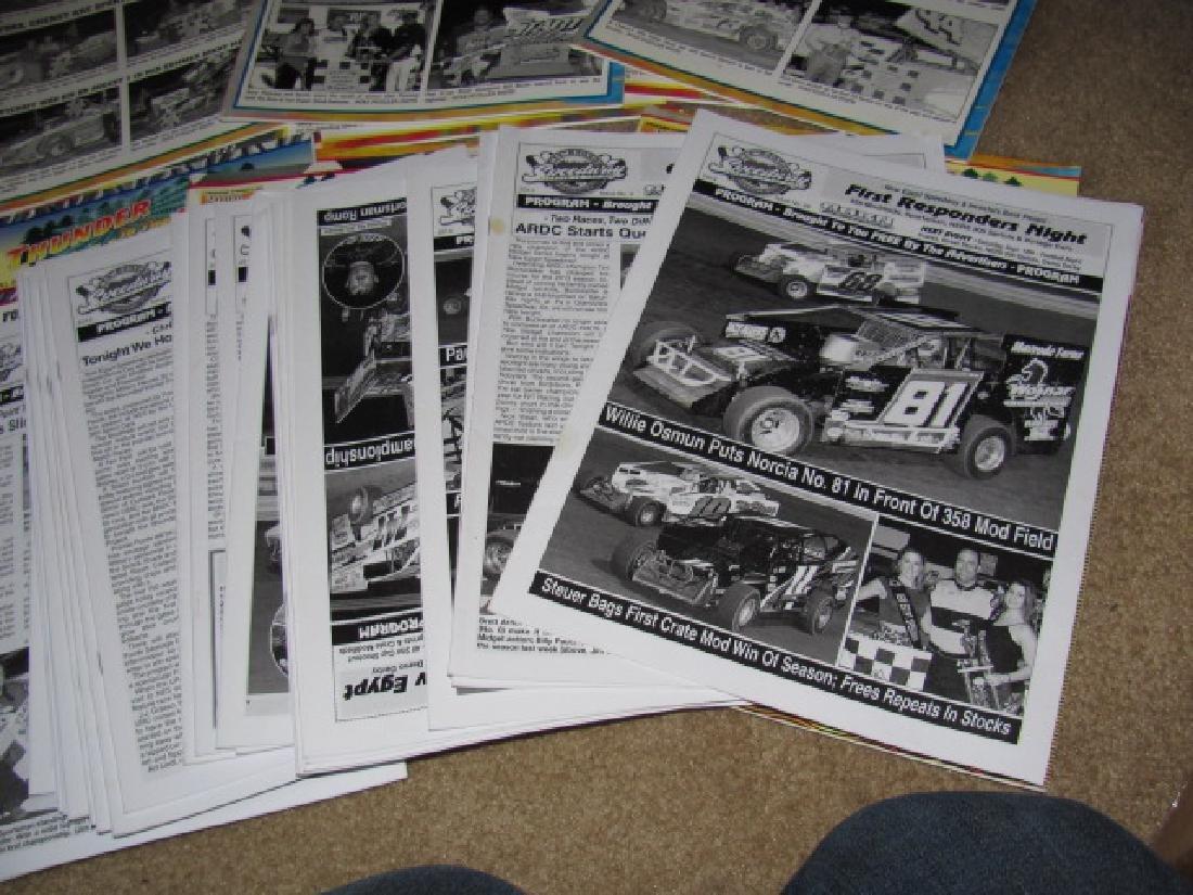 78 Vintage New Egypt Speedway Programs - 5