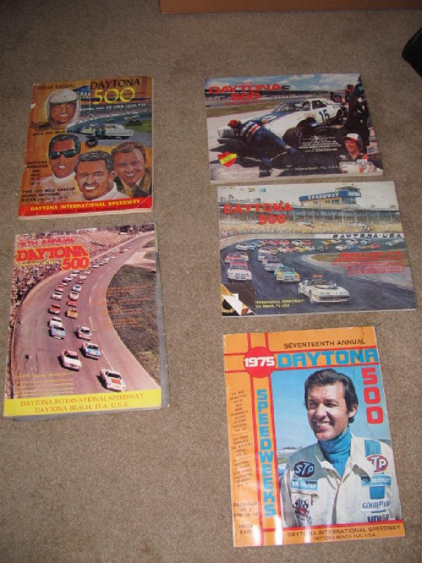 Daytona Nascar Racing Programs