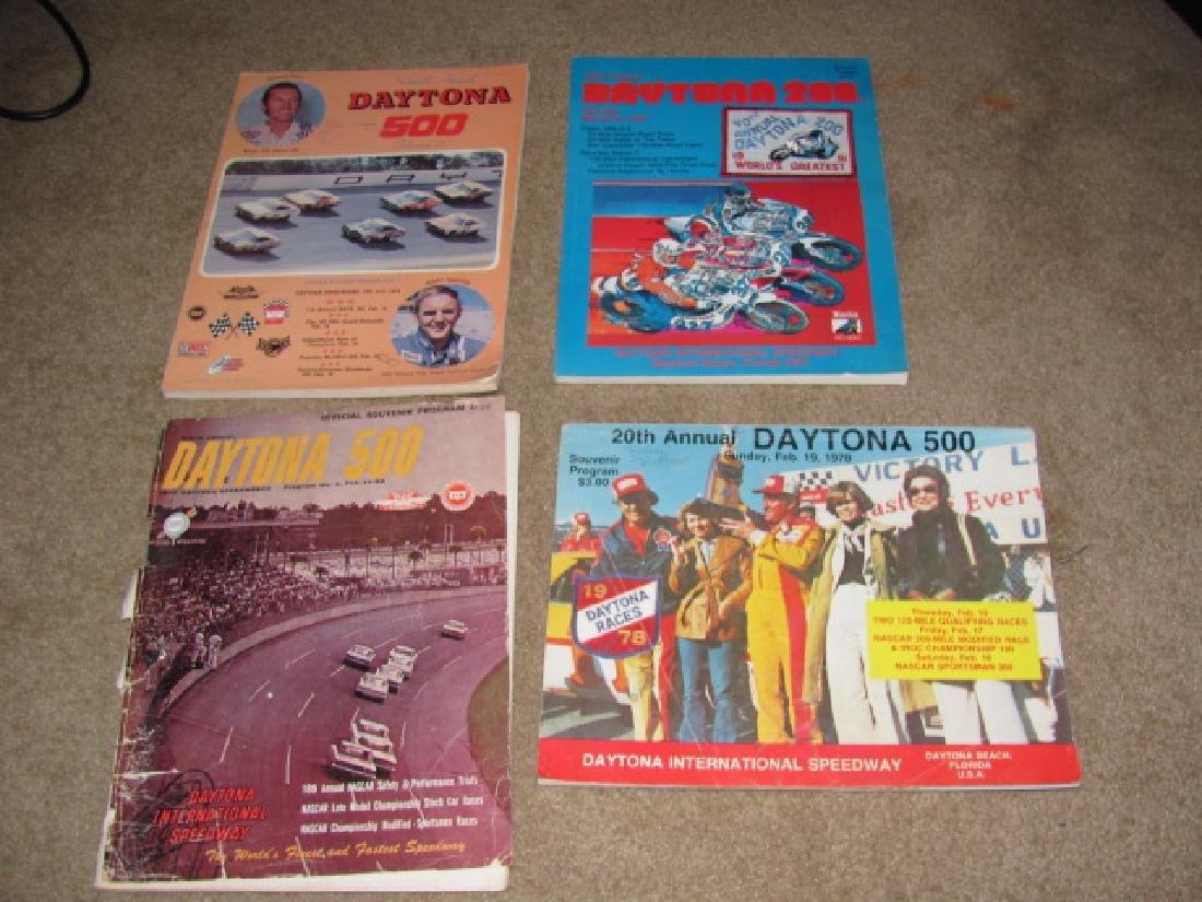 Daytona Nascar Racing Programs - 2
