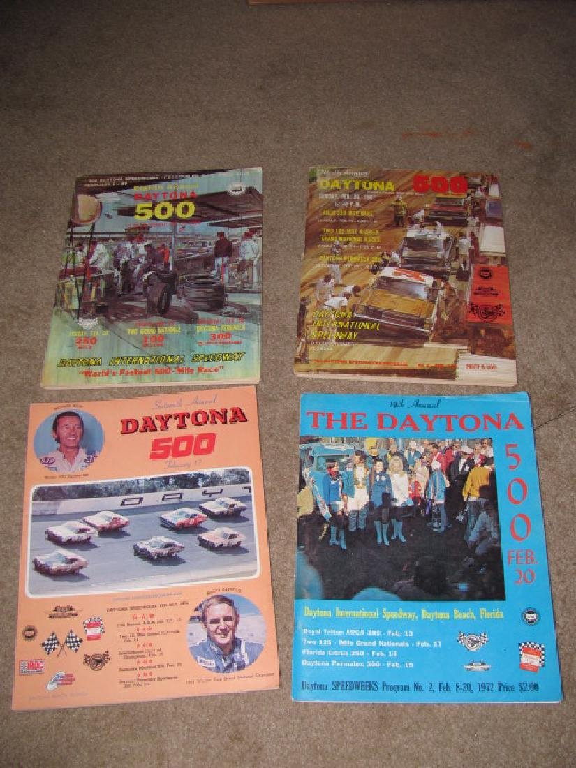 Daytona Nascar Racing Programs - 3