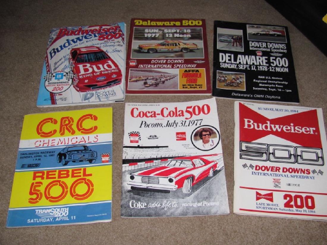 1970's & 80's Nascar Racing Programs