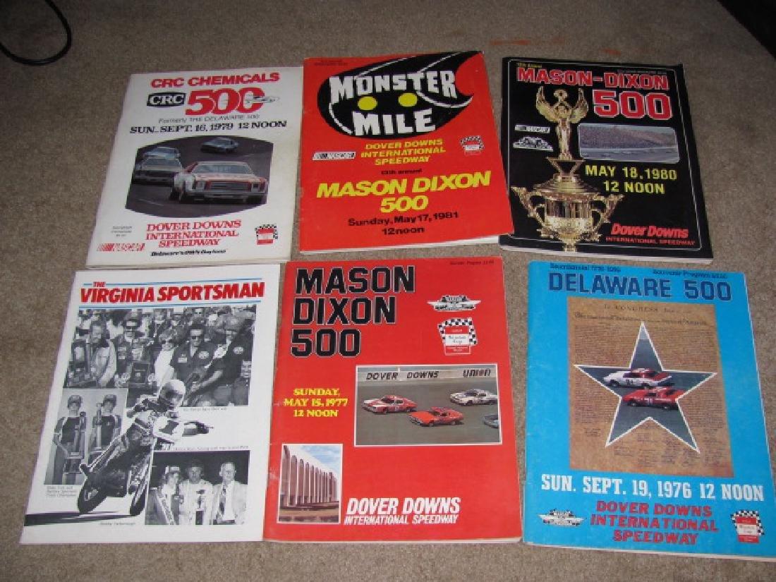 1970's & 80's Nascar Racing Programs - 2