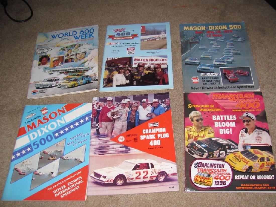 1970's & 80's Nascar Racing Programs - 3