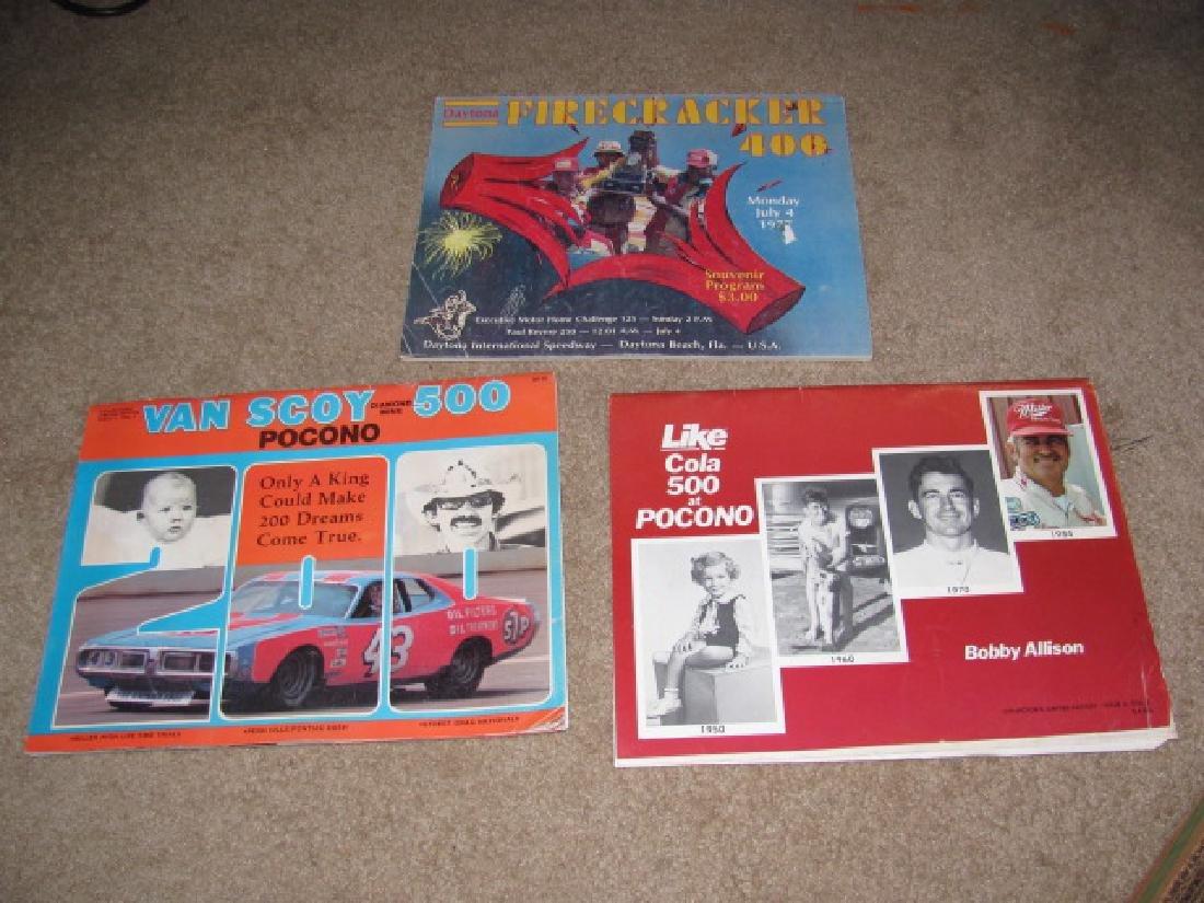 1970's & 80's Nascar Racing Programs - 4