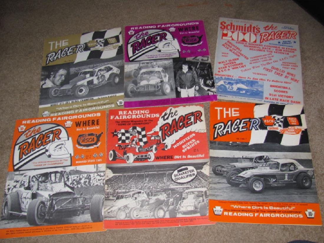 Vintage Reading Fairgrounds Racing Programs - 2