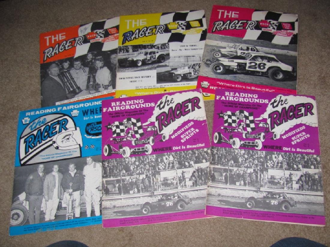 Vintage Reading Fairgrounds Racing Programs - 3